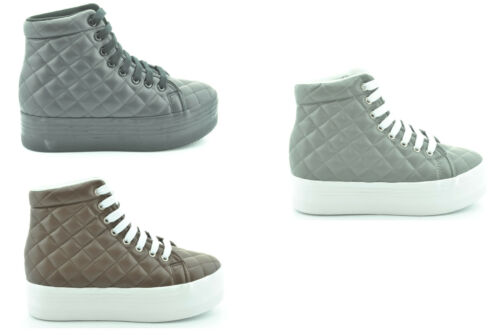 a14 Jc Play by Jeffrey Campbell scarpe donna sneakers piattaforma HOMG QUILTED HapkVWRgs