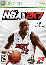 XBOX 360 2K Sports NBA 2K7 Video Game Basketball Tournament Multiplayer 2007 07