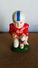Vintage Coin Bank 1974 Sears Roebuck and Co. Retro Ceramic Football Player