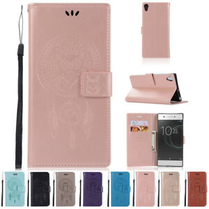 For-Sony-Xperia-XA1-ULTRA-Luxury-Leather-Flip-Magnetic-Card-Wallet-Case-Cover