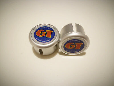 GT vintage MTB BMX Plugs Caps Tapones guidon bouchons lenker endkappe Tappi NOS
