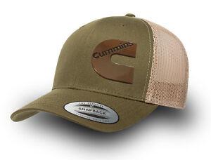 176b1fd79ad CUMMINS DIESEL RETRO TRUCKER CAP CUMMINS TRUCKER CAP RETRO YUPOONG ...