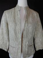 Coldwater Creek Women's Beige Lightweight Casual Jacket Msrp $89.95 Sz 6 on sale