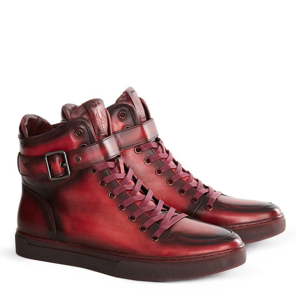 Uomo Jump 75 Usa Shoes Sullivan Fashion Red Size 10.5