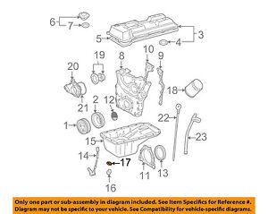 Toyota OEM двигатель Parts-сливной пробки прокладка 9043012031 | eBay
