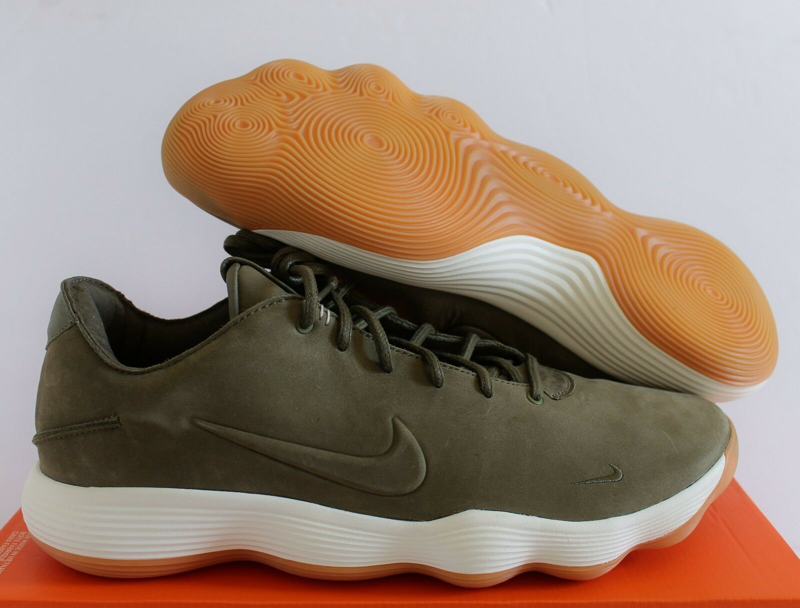 check out 337ea 67971 Nike hyperdunk 2017 niedrig lmtd olive olive olive green-Weiß-gum sz. 8d8f80