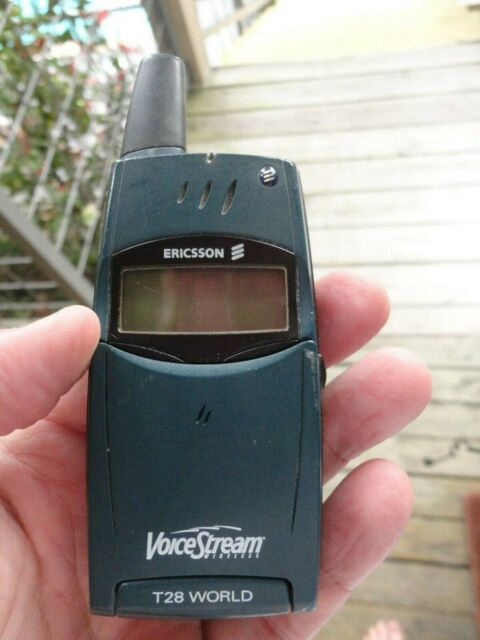 VINTAGE Ericsson T28s Flip Mobile Phone YEAR 2000 CELL PHONE ART VOICESTREAM for sale online