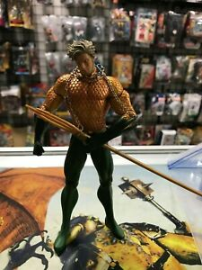 DC Aquaman Action Figure Justice League Super Hero Arthur Curry Toy Collection