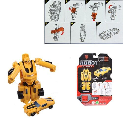 Transformation Transformer Classic Robot Cars Toys Children Kids Toy Xmas Gift