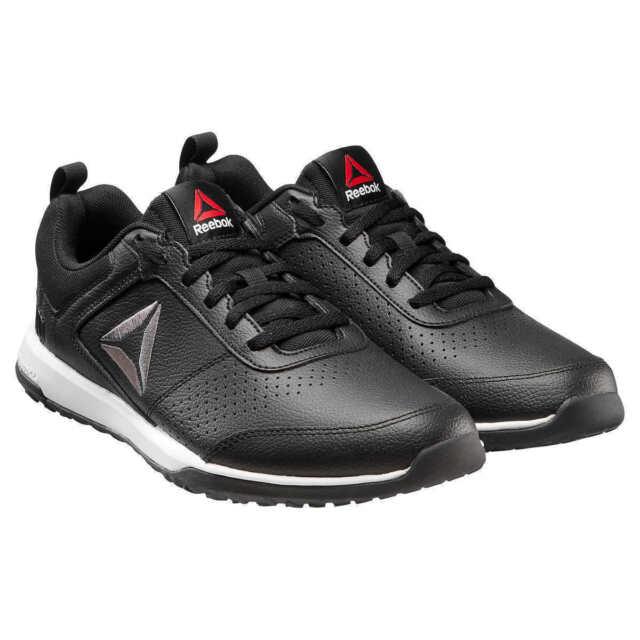 300206d5752238 Reebok Men s CXT TR Athletic Shoes Leather Training Sport Sneaker Black  Size 9