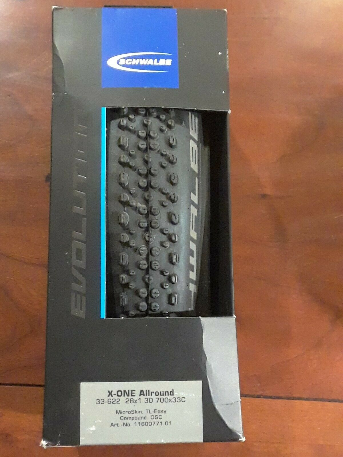 Schwalbe X-one Bite Tubeless Cross Tire 700 X 33 Folding Bead Black With Onesta for sale online