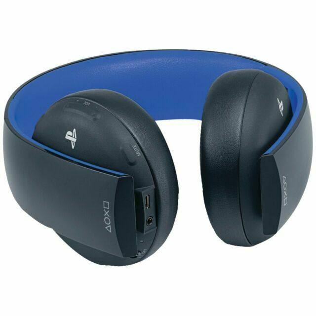 Sony Playstation Gold Wireless Stereo Headset 20th Anniversary Edition For Sale Online Ebay