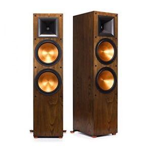 KLIPSCH-rf-7-II-WALNUT-Limited-Edition-COPPIA-PREZZO-Stand-Altoparlante-1000-Watt