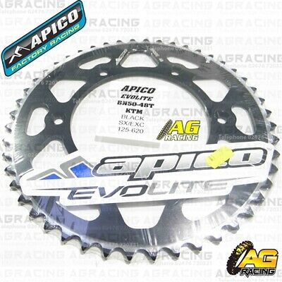 Agressief Apico Evolite Black Rear Sprocket 48t 520 For Ktm Sx 450 2015 Obstructie Verwijderen