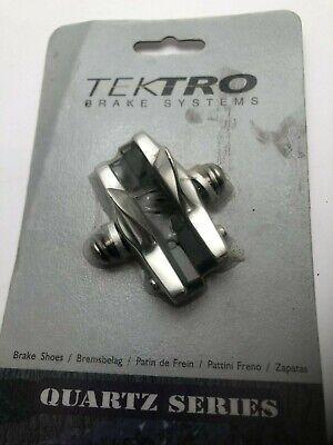 Tektro P477 Alloy Premium Cartridge Road Race Bike Brake Shoes Silver Side Pull