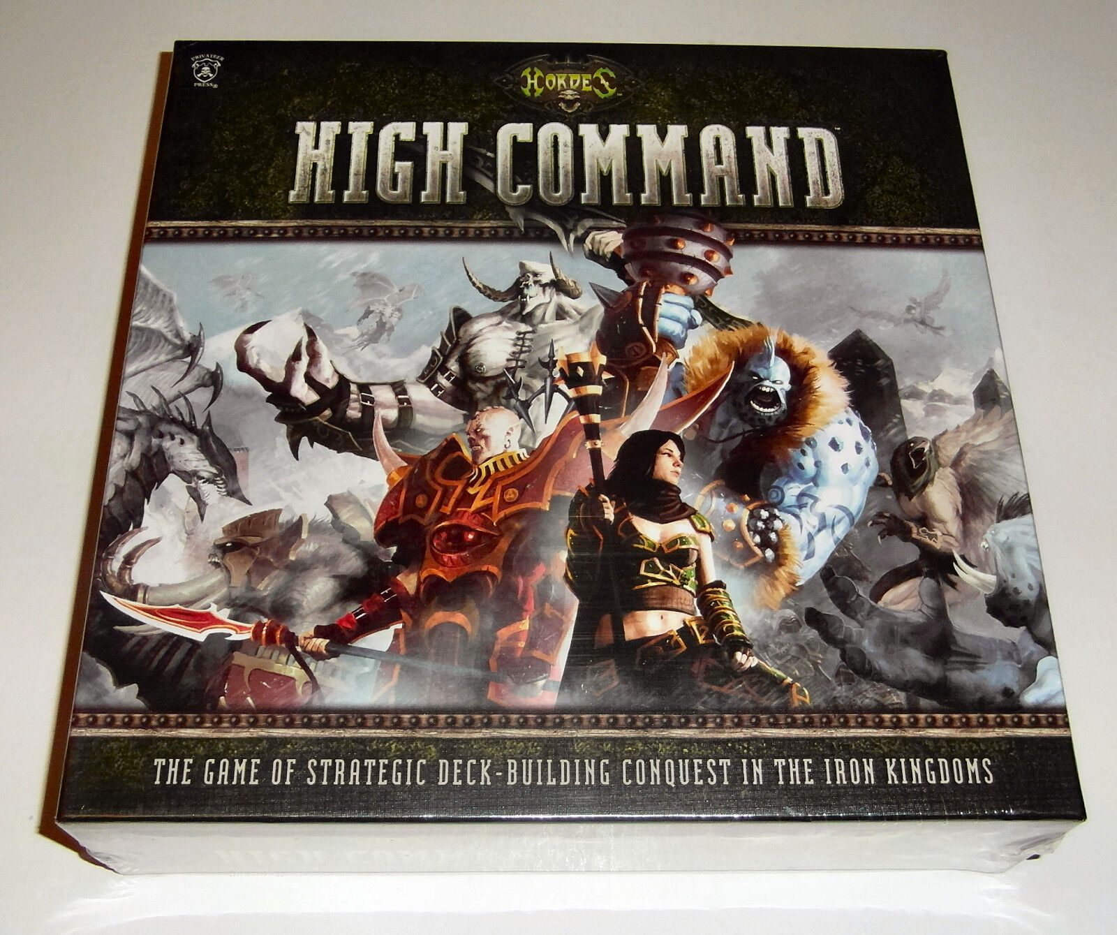 Hordes  High Command - Privateer Press - 2013