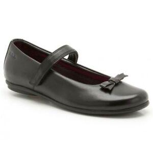 Clarks DAISY Meadow Girls Black Leather