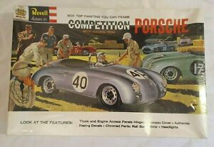 Revell Authentic kit Competition Porsche H-1246 with Racing Trim Sealed