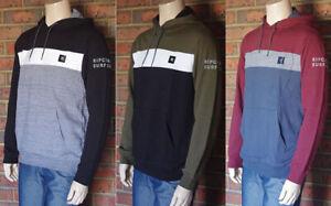 Rip-Curl-Men-039-s-Pullover-Fleece-Hoodie-Jumper-size-M-L-XL-XXL-NWOT-RIPCURL-sl