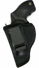 LEFT HAND INSIDE PANTS IWB CONCEALMENT HOLSTER - CHARTER ARMS 38 REVOLVER