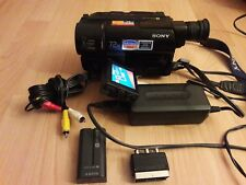 Sony CCD-TRV27E PAL Digital 8 (Hi8, Video8XR) Handycam Camcorder Made in Japan
