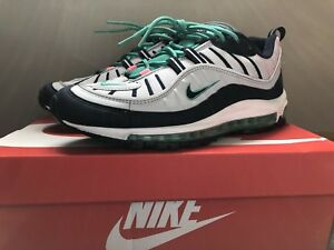 separation shoes 33271 074ad Details about Nike Air Max 98 South Beach (Size 9.5)