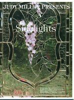 Judy Miller Sidelights Stained Glass Pattern Book