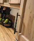 Kitchen Cabinet Door Antique Pewter Twist Handle and T Knob
