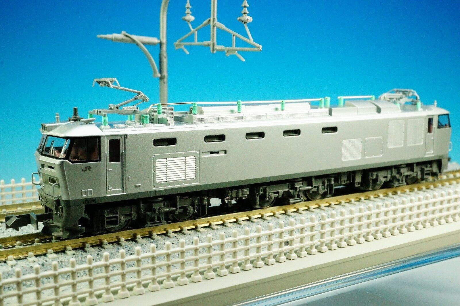 Kato 3065-5 Jr Mercancías Locomotora eléctrica EF510 500 Color plata (escala N)     nuevo