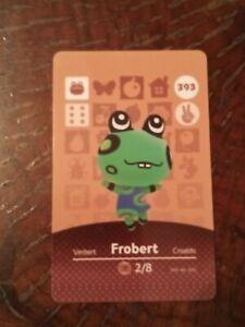 Animal Crossing Frobert Amiibo Card NFC Chip Nintendo ...