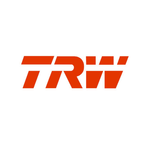 Genuine TRW Front Vented Coated Brake Discs /& Directional Brake Pads