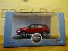 OXFORD DIECAST 76RR001 1:76 OO SCALE Range Rover Evoque in White