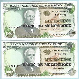 Mozambique P 119-1000 Escudos 1976 UNC
