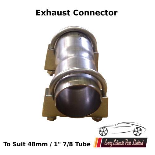 48mm 2.5cm 7//8 Réparation Échappement Tuyau Connecteur Assembleur Gaine Pince