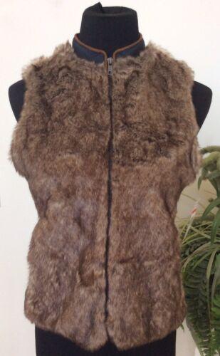 Ret Kvinder Ærmeløs Vintage Camelia 89 Faux Xs America Sz 5 Vest Nwt Blues Fur 787165911807 0PnITdxd