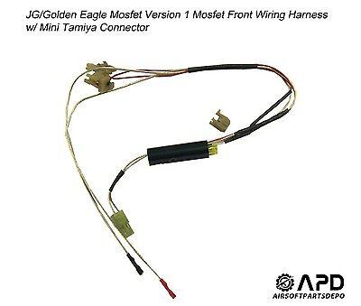 JG Golden Eagle Mosfet Wiring Front Harness MINI Airsoft AEG M4 Version 1 |  eBay | Aeg Wiring Harness |  | eBay