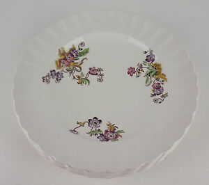 Set-5-x-Salad-Plates-8-3-4-034-Spode-Wicker-Lane-vintage-earthenware-England
