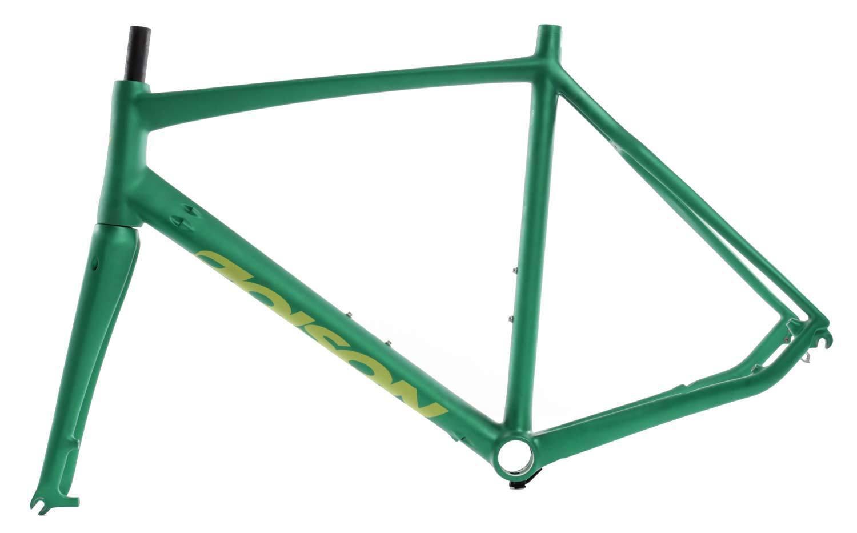 Poison Speed voiturebon Vélo de course rahHommeskit taille 57 Mat-Vert es-r-18-04