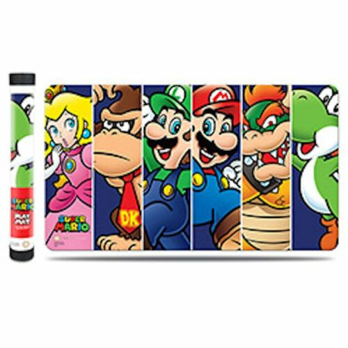 YOSHI. SUPER MARIO BROTHERS AND FRIENDS PEACH PLAY MAT ULTRA PRO FOR CARDS