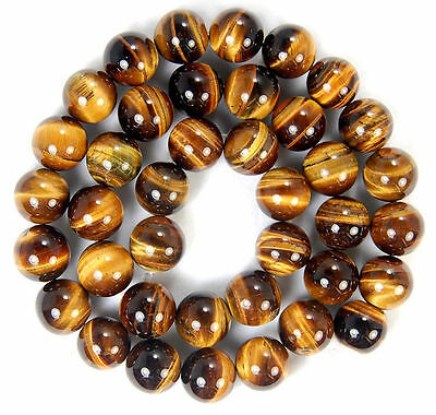 4mm,6mm,8mm,10mm African Roar Tiger/'s Eye Round Loose Beads15/'/'