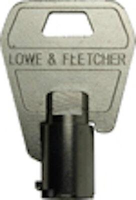 LOWE /& FLETCHER Tubular Keys Cut To Code Number-Vending,Garage /& Cam Locks-L/&F