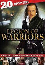 Legion of Warriors: 20 Movies ,DVD, 2013, 4-Disc Set, BRAND NEW, FREE SHIPPING