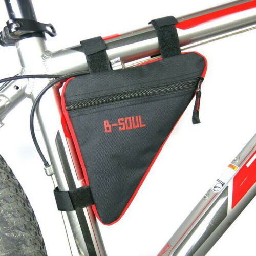 Waterproof Triangle Cycling Bike Bicycle Front Tube Frame Saddle Phone Pouch Bag