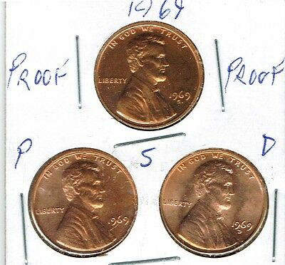 2019 Three Uncirculated Dime Types The San Francisco is From a Proof Set!