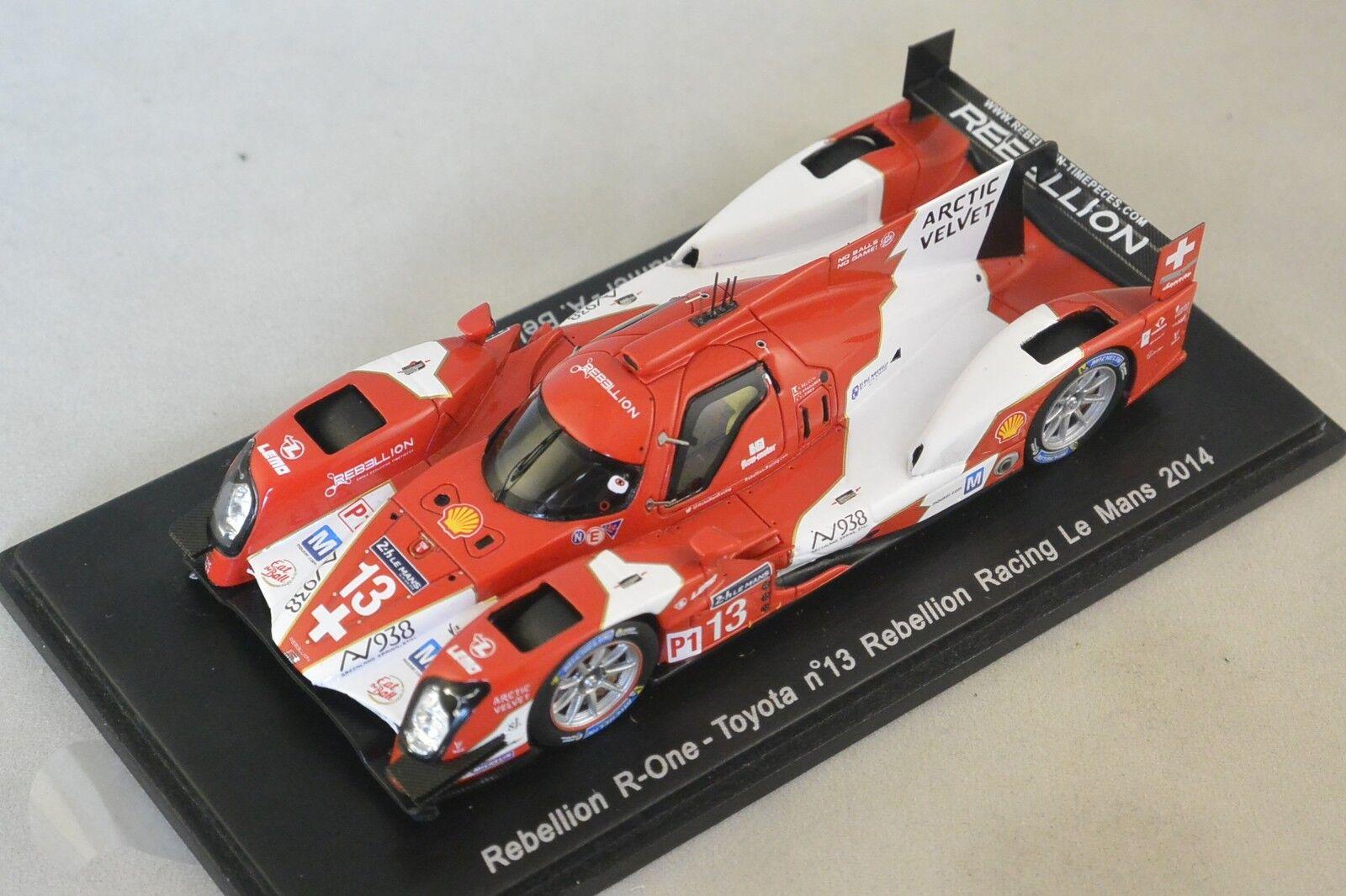 Spark S4207 - REBELLION R-One R-One R-One Toyota Rebellion n°13 Le Mans 2014 Kraihamer 1 43 aee2e5