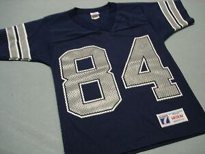 on sale a3b8e 92bf9 Details about Vintage JAY NOVACEK Logo7 Dallas Cowboys Jersey YOUTH MEDIUM  Perfect !