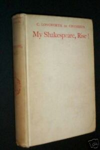 Chambrun-Clara-Longworth-My-Shakespeare-rise-Reco