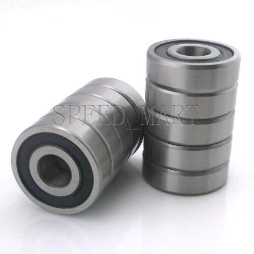10PCS 6204-2RS Deep Groove Ball Bearing 20mm*47mm*14mm