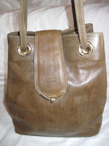 Authentique Vintage Cuir Seau Sac texier Tbeg Et Magnifique Bag pcO6Z5P