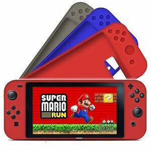 huge selection of 44281 c82cf Details about Nintendo Switch Silicone Cover Rubber Cases Skin Sleeve Soft  Shell Protective